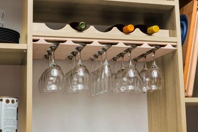 Wine Rack and Stemware Holder