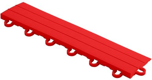 """12"""" Looped Edge Flooring Tile - Racing Red (10pk)"""