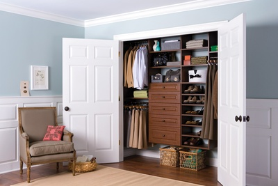 Reach-In Closet for Two