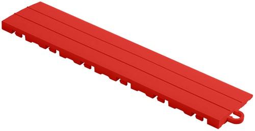 "12"" Pegged Edge Flooring Tile - Racing Red (10pk)"