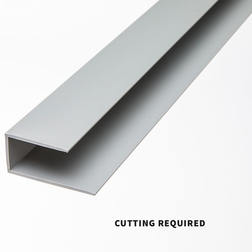 Slatwall Frame Molding - Grey 4ft.