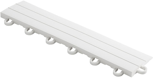 "12"" Looped Edge Flooring Tile - Arctic White (10pk)"