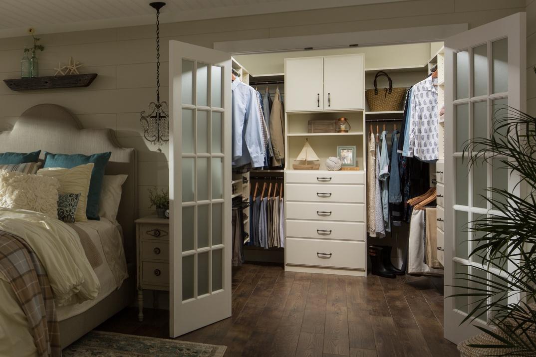 Elegant Walk-In Master Closet