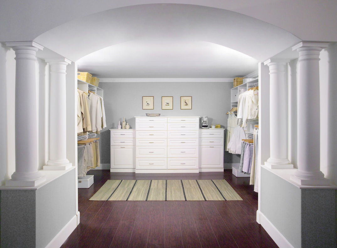 His & Her Walk-In Closet