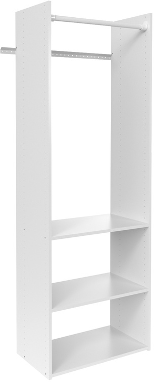 "72"" Hanging Tower Closet - White"