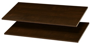 "35"" Shelves - Truffle (2 pack)"