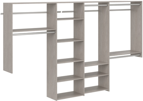 Dual Tower Basic Kit - Weathered Grey