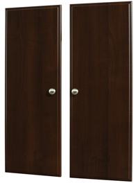 """35"""" Deluxe Doors - Truffle (pair)"""