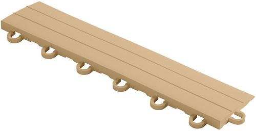"""12"""" Looped Edge Flooring Tile - Mocha Java (10pk)"""