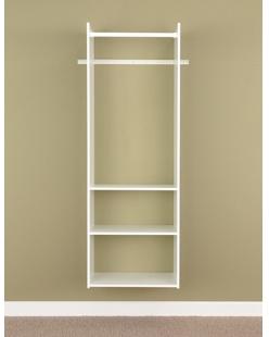 "72"" Hanging Tower Closet - White"