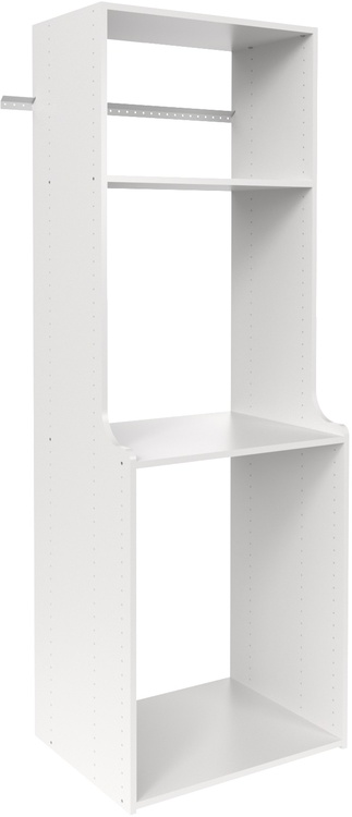 "72"" Hanging Hutch - White"
