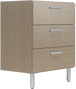 """30"""" Wide Base Cabinet with 3 Drawers"""