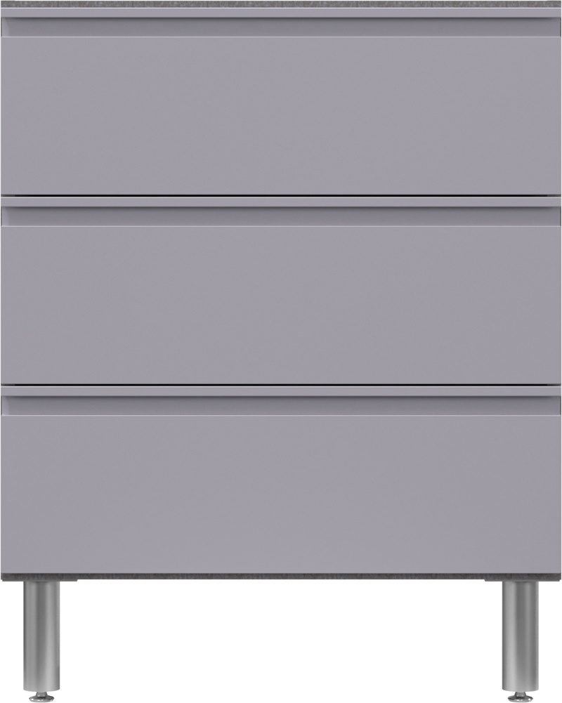 """30"""" Wide Base Cabinet with 3 Drawers 