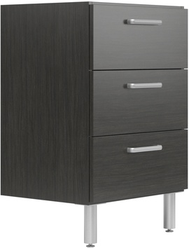 "24"" Wide Base Cabinet with 3 Drawers"
