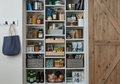 Reach-In Pantry with Barn Door