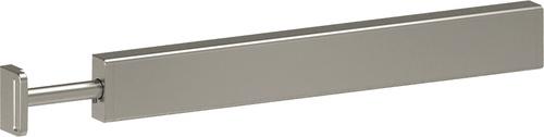 Extendable Valet Rod - Matte Nickel