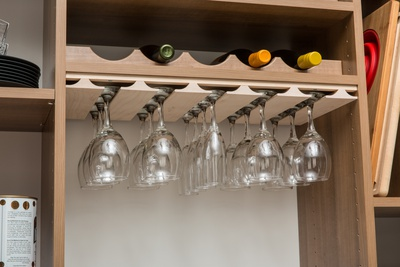 Wine Rack and Stemware Holder
