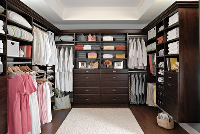 Sophisticated Walk-In Closet