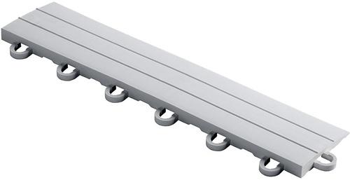 "12"" Looped Edge Flooring Tile - Pearl Silver (10pk)"