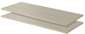 """35"""" Shelves - Weathered Grey (2 pack)"""