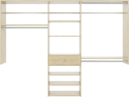 8' Perfect Fit Reach-In Closet - Honey Blonde