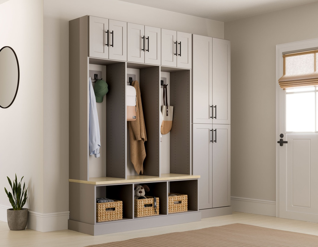 Entryway Locker Storage