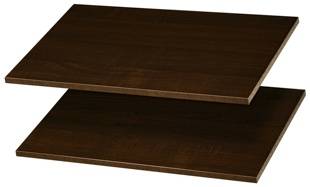 "24"" Shelves - Truffle (2 pack)"
