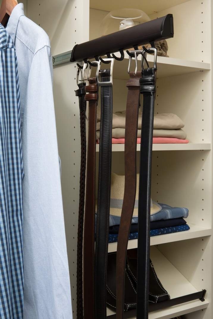 Slide-out Belt Rack
