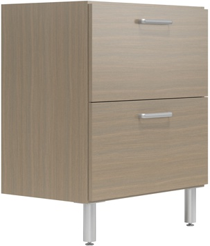 """30"""" Wide Base Cabinet with 2 Drawers"""