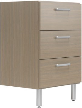 """24"""" Wide Base Cabinet with 3 Drawers"""