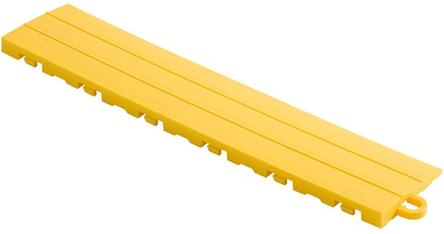 "12"" Pegged Edge Flooring Tile - Citrus Yellow (10pk)"