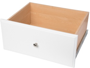 "12"" Deluxe Drawer - White"