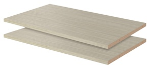 """24"""" Shelves - Weathered Grey (2 pack)"""