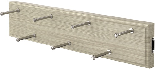 Sliding Belt Rack - Weathered Grey