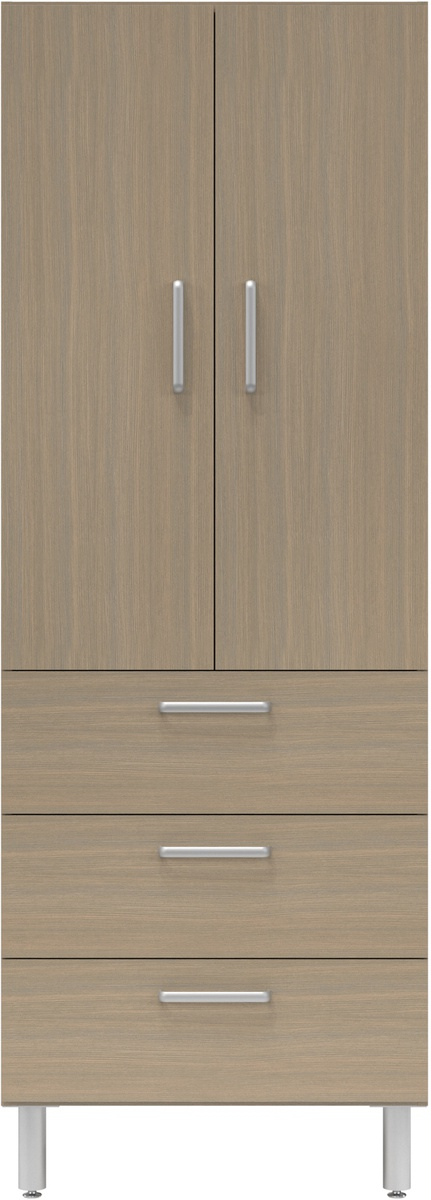 30 Wide Tall Cabinet With Doors3 Drawers Easygarage