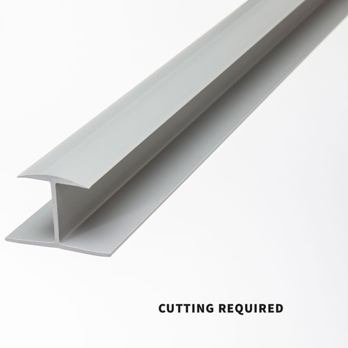 Slatwall Seam Molding - Grey 4ft.