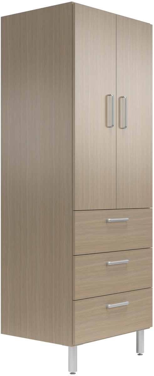 30 Quot Wide Tall Cabinet With Doors 3 Drawers Easygarage