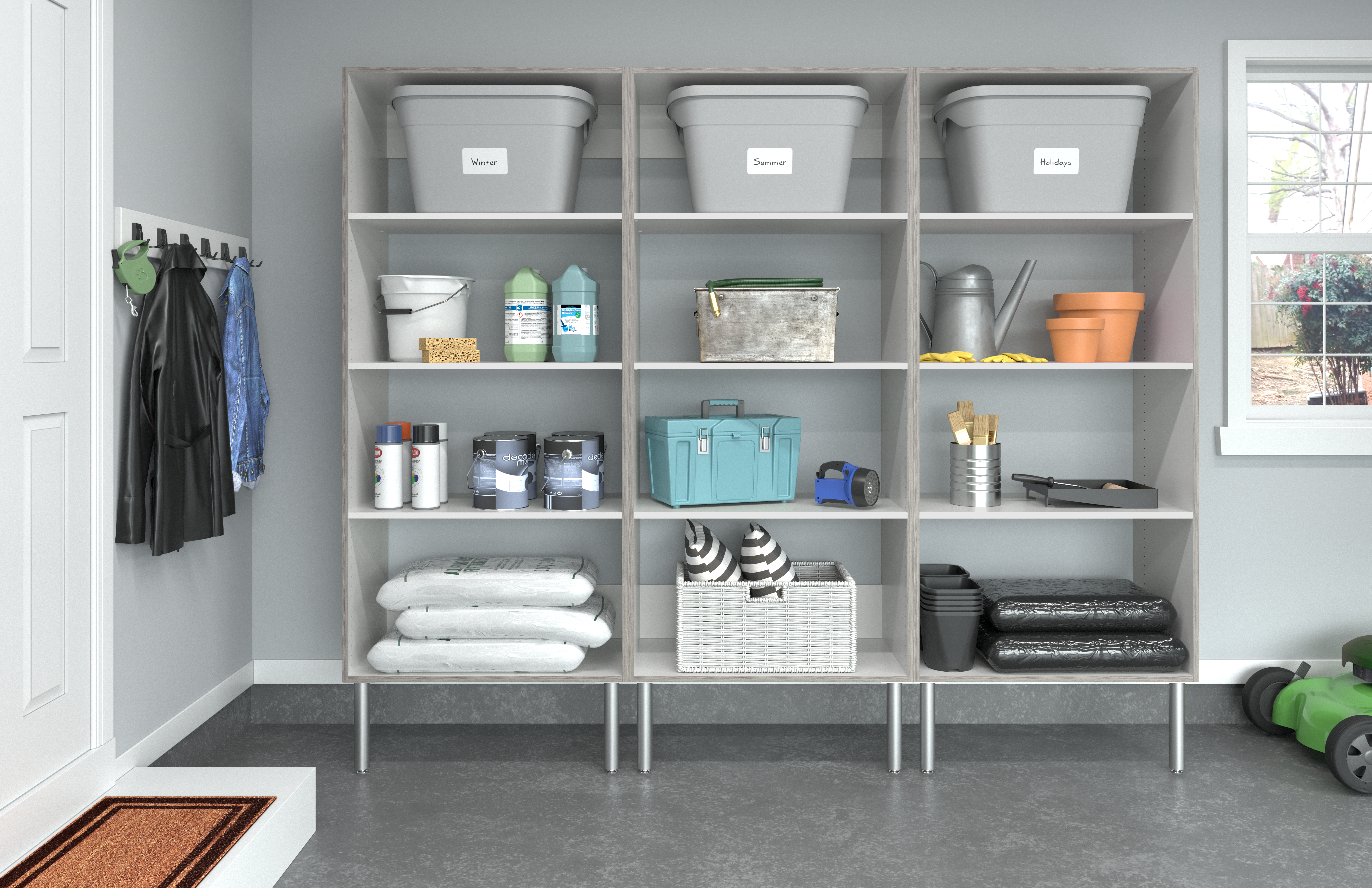 Four Tips to Simplify Cleaning the Garage for Winter