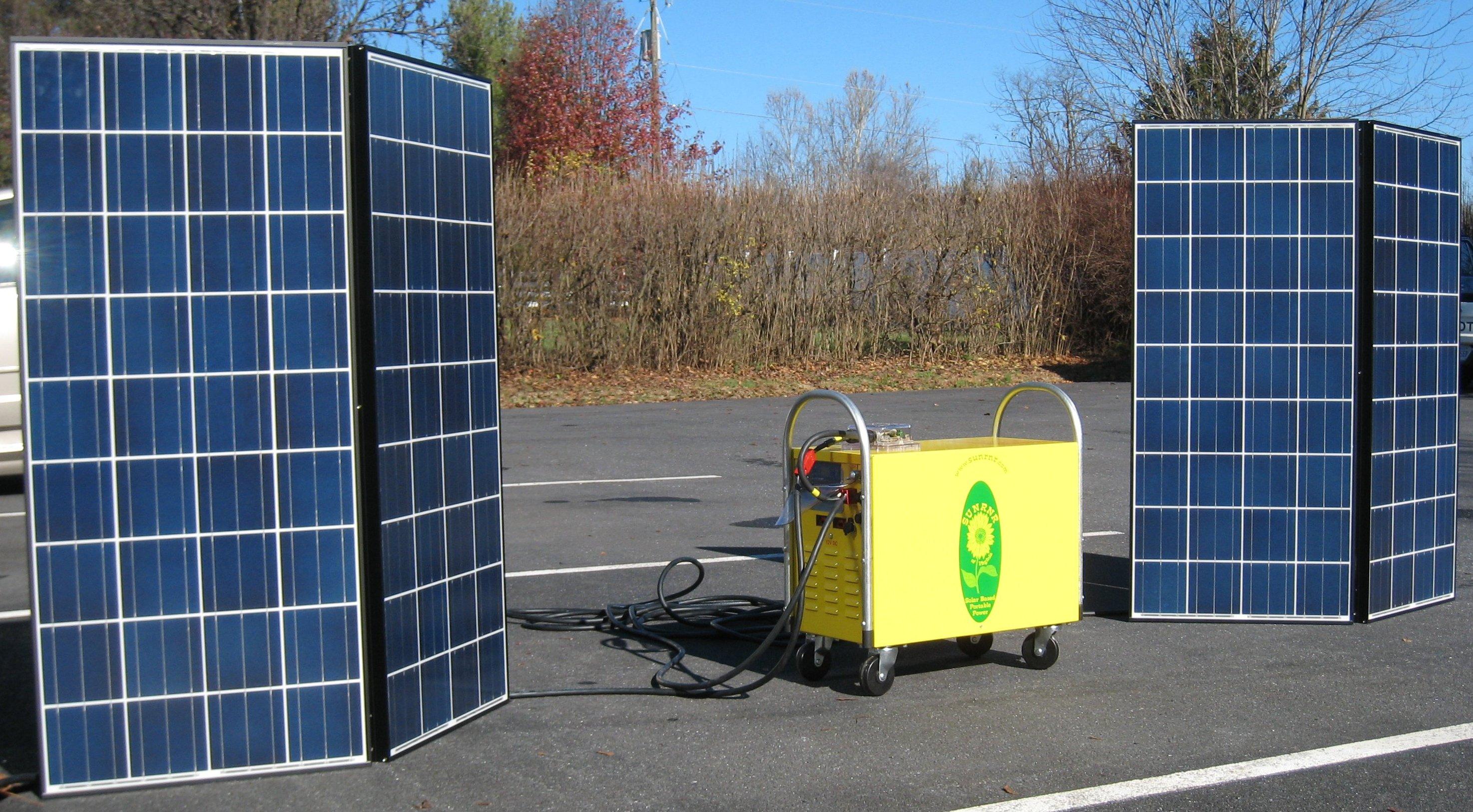 Thinkglobal Energy Products Marinesolarpanelrvsolarpanelgif Sunrunr Portable Solar Plus Storage System