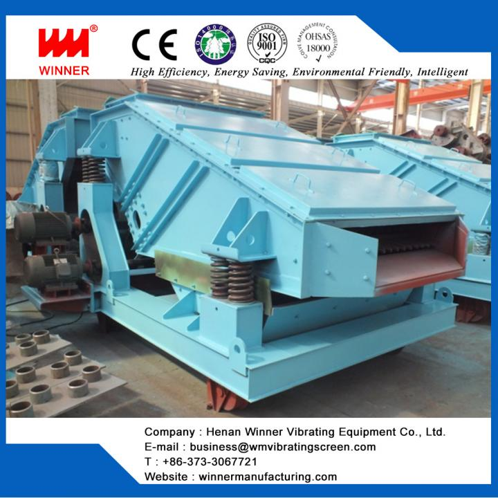 ThinkGlobal: ZK linear vibrating screen for mining ore - Henan