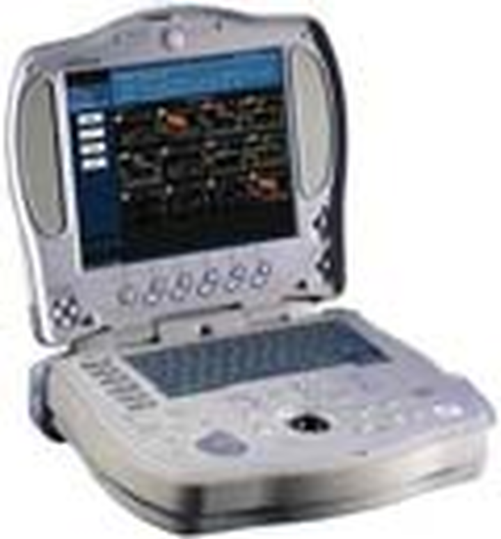 Ge logiq book portable ultrasound machine