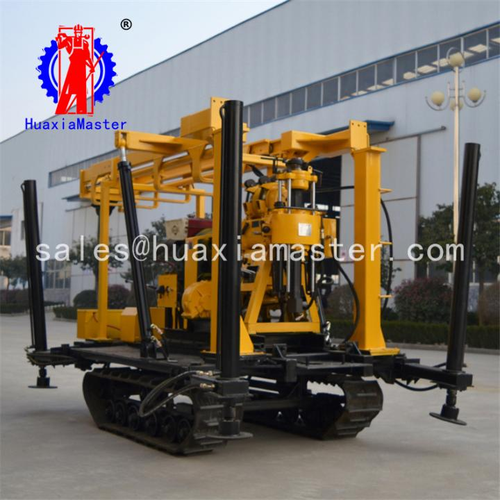 ThinkGlobal: XYD-130 Crawler Hydraulic Core Drilling Rig Water Well