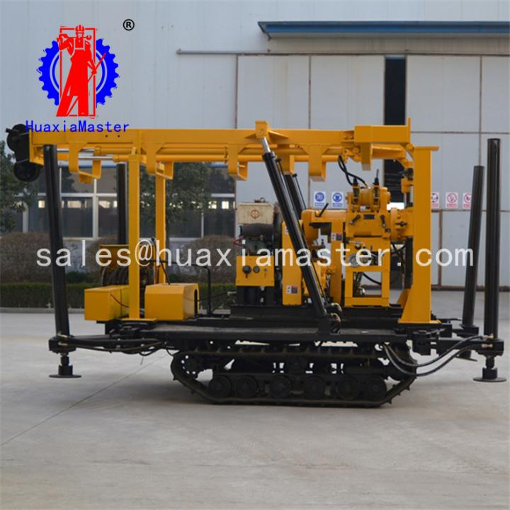 ThinkGlobal: Mobile Tracked XYD-130 crawler hydraulic water well