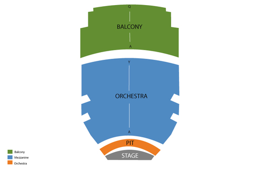 Baton Rouge River Center Theater Seating Chart