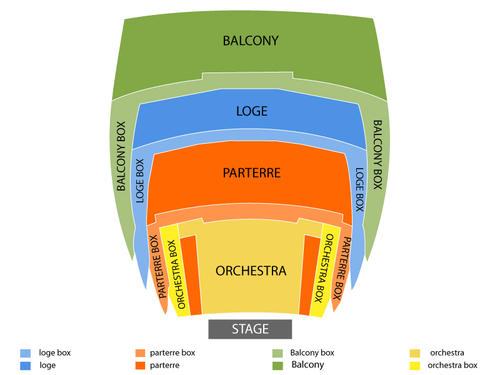 Valley Performing Arts Center Seating Chart