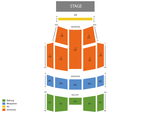 Lakeland Center Youkey Theatre Seating Chart