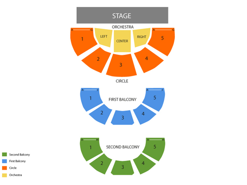 Carnegie Music Hall Seating Chart