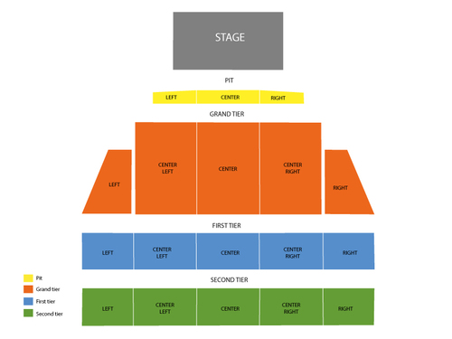 Artpark Mainstage Seating Chart