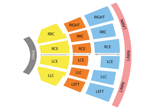 Constellation Brands Performing Arts Center Seating Chart
