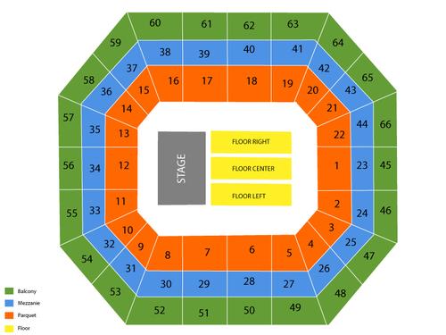 Georgia National Fairgrounds Seating Chart